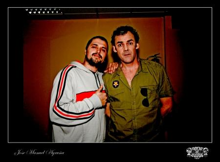 Israel Gonzalez y Paco Luque